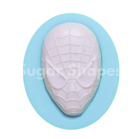 Sugar Shapes - Silicone Mould Spiderman Mask