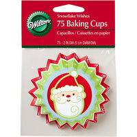 Wilton - Snowflake Wishes Standard Baking Cups