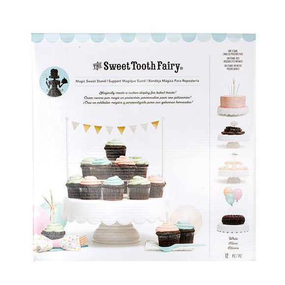 Sweet Tooth Fairy - Cake Stand - Magic Sweet Stand - White