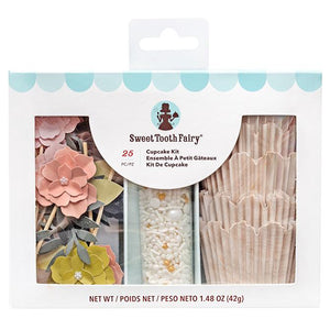 Sweet Tooth Fairy - Cupcake Kit Flower 25 pc