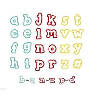 Sweet Sugarbelle - Specialty Cookie Cutters - Alphabet (28 pieces)