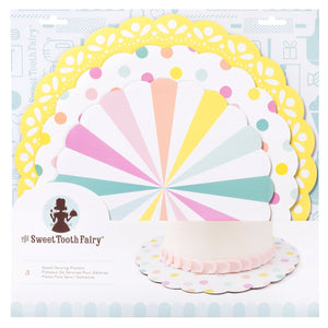 Sweet Tooth Fairy - Sweet Serving Platter - Pastel (3 pieces)