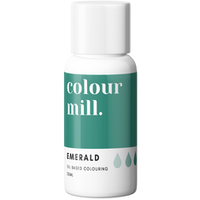 Colour Mill - Oil Based Food Colouring EMERALD