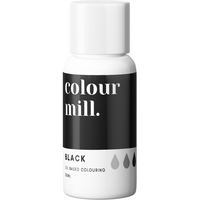 Colour Mill - Oil Based Food Colouring BLACK