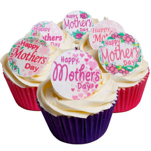 CDA Products -  Mothers Day Round Toppers (12)