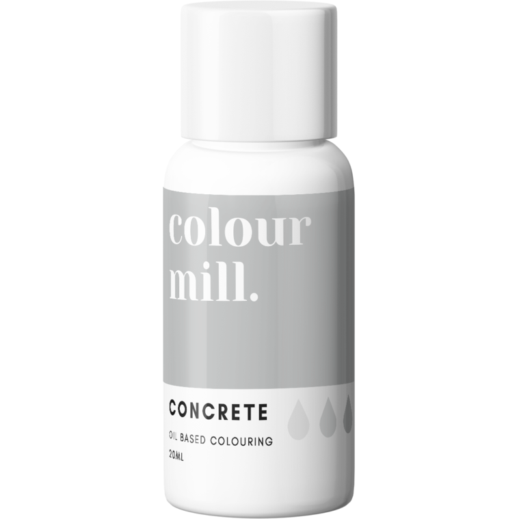 Colour Mill - Oil Based Food Colouring CONCRETE