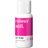 Colour Mill - Oil Based Food Colouring HOT PINK