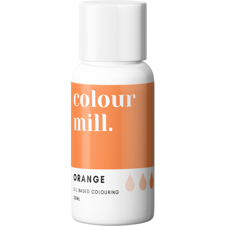Colour Mill - Oil Based Food Colouring ORANGE