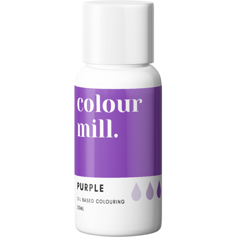 Colour Mill - Oil Based Food Colouring PURPLE
