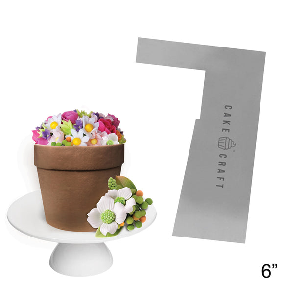 Cake Craft - Buttercream Comb - Flower Pot 6 Inch