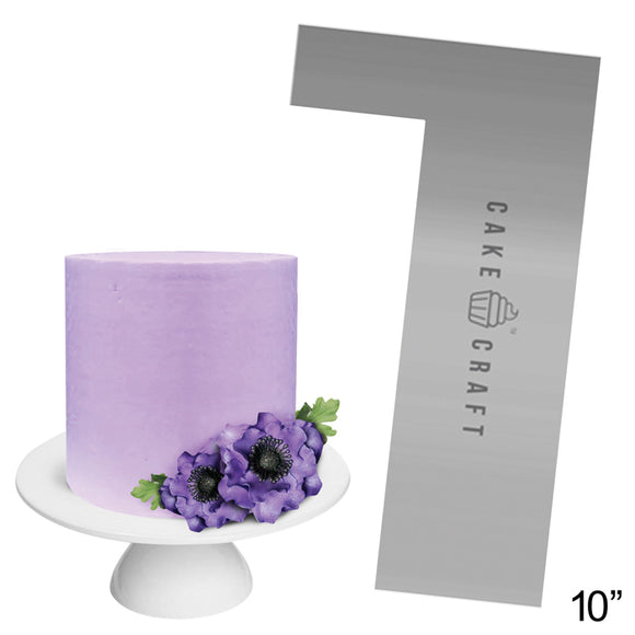 Cake Craft - Buttercream Comb - Staright Edge 10 Inch