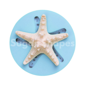 Sugar Shapes - Silicone Mould Starfish Medium