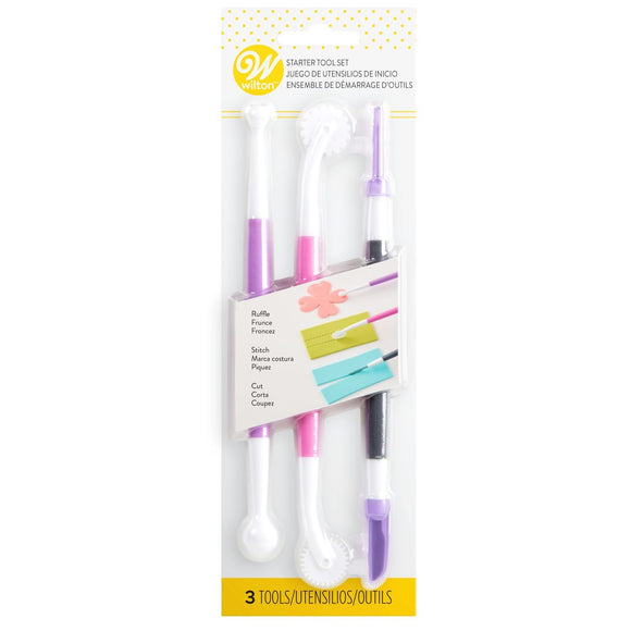 Wilton - 3-Pc. Fondant and Gum Paste Starter Tool Set