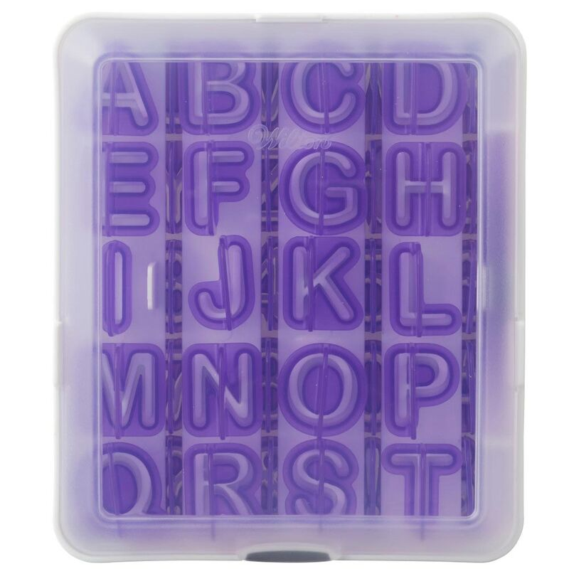 Wilton - 40-Pc. Alphabet and Number Cut-Outs