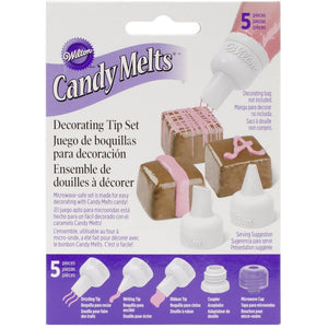 Wilton - Candy Melts Decorating Tip Set