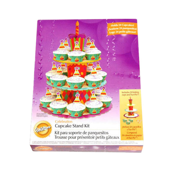 Wilton - Celebration Cupcake Stand Kit