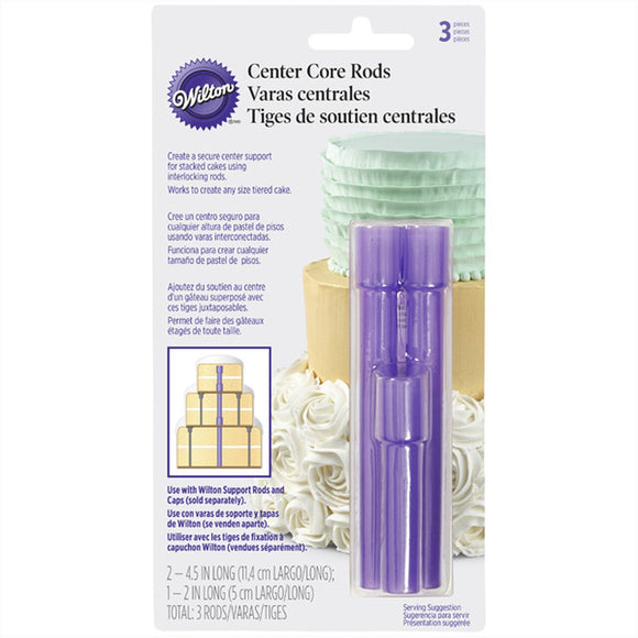 Wilton - Center Core Cake Rods