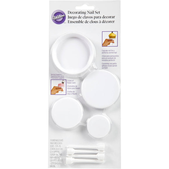 Wilton - Decorating Nail Set