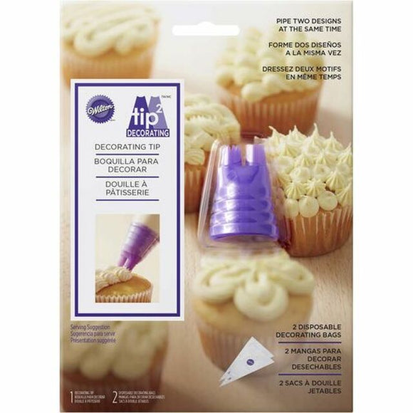Wilton - Duo Piping Tip Set