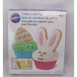 Wilton - Easter Bunny Cookie Cutter Set of 4