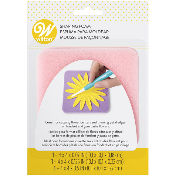 Wilton - Fondant Shaping Foam Set