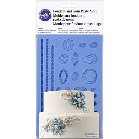 Wilton - Jewellery Fondant & Gum Paste Mould