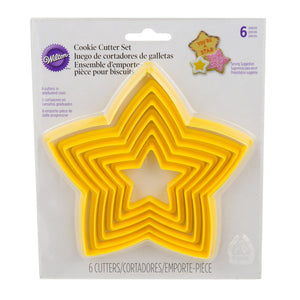 Wilton - Nesting Star Cutter Set