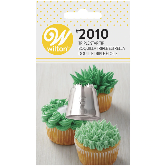Wilton - Triple Star Tip, Carded