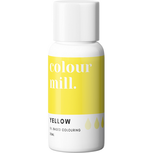 Colour Mill - Oil Based Food Colouring YELLOW