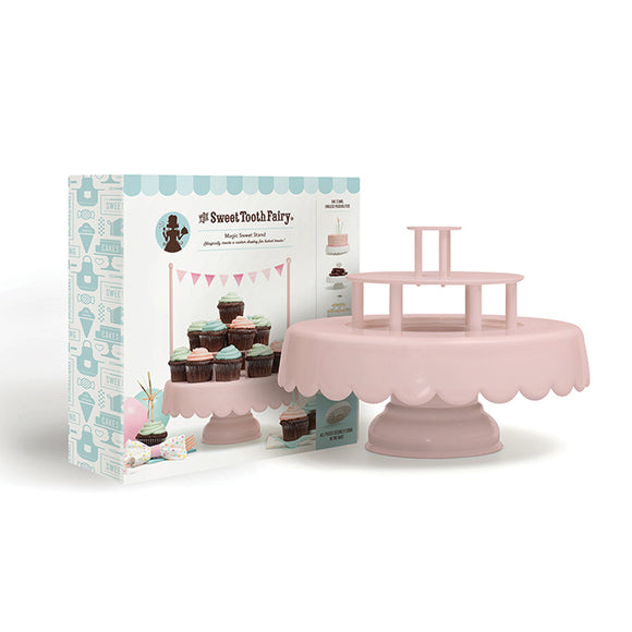 Sweet Tooth Fairy - Cake Stand - Magic Sweet Stand - Pink