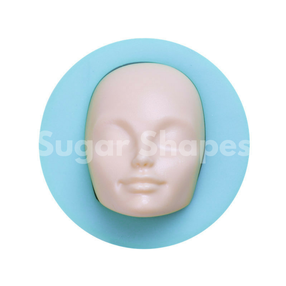 Sugar Shapes - Silicone Mould Figurine Head Adult