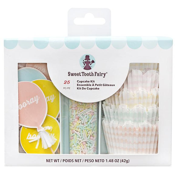 Sweet Tooth Fairy - Cupcake Kit Hooray 25 pc