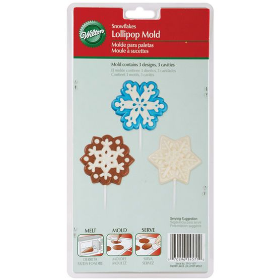 Wilton - Snowflake Large Lollipop Mould