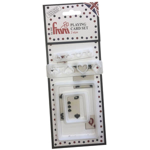 FMM Sugarcraft - Playing Card Cutter Set