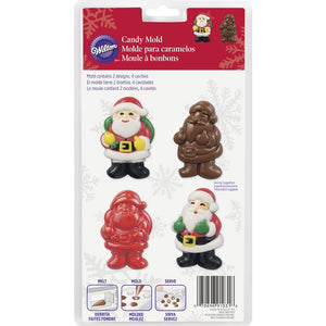 Wilton - Santa Candy Mould