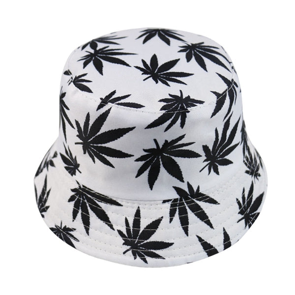 Leaf Weed Bucket Hats Men-Lucky Chuckie dc