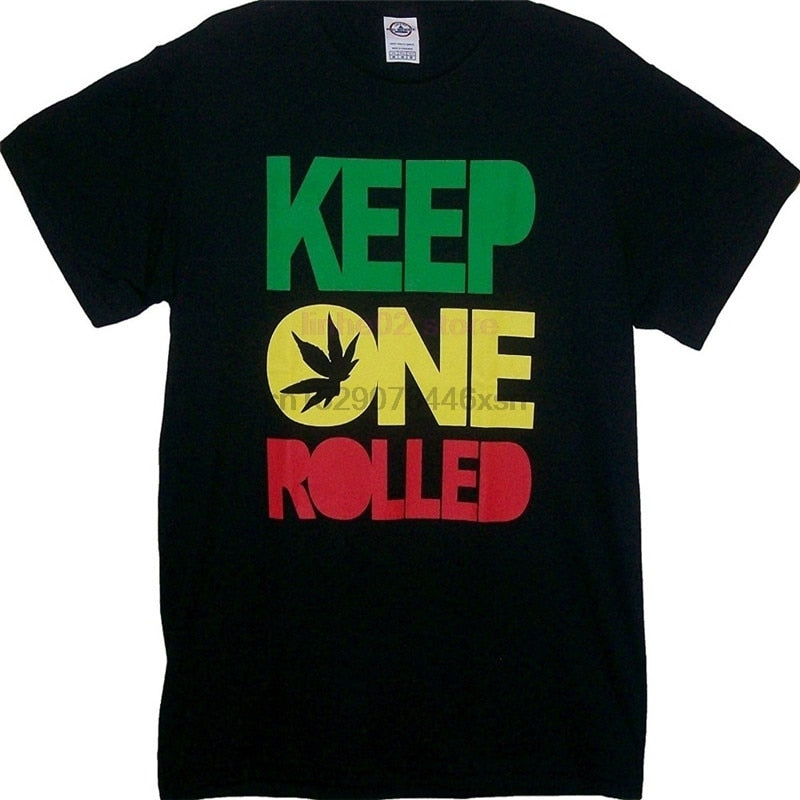 Keep One Rolled Weed Smokers T Shirt-Lucky Chuckie dc