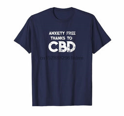 Clothing CBD Oil Cannabannoid Anxiety Free T Shirt-Lucky Chuckie dc