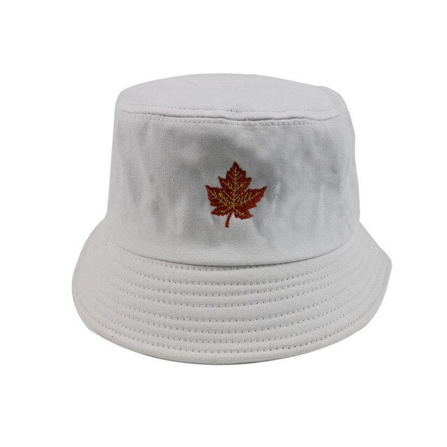 Maple Leaf Bucket Hat-Lucky Chuckie dc