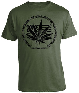 Weed Legalization T-Shirt-Lucky Chuckie dc