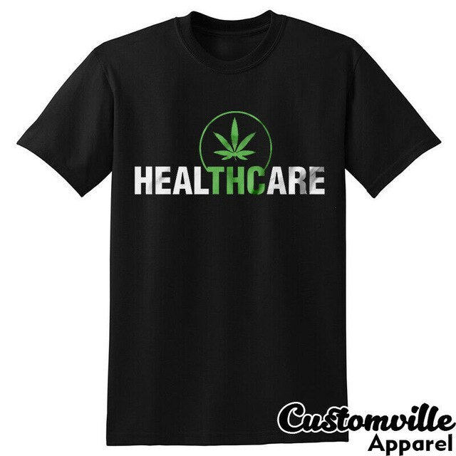 THC Heal Medical T-Shirt Healthcare Weed Shirt-Lucky Chuckie dc