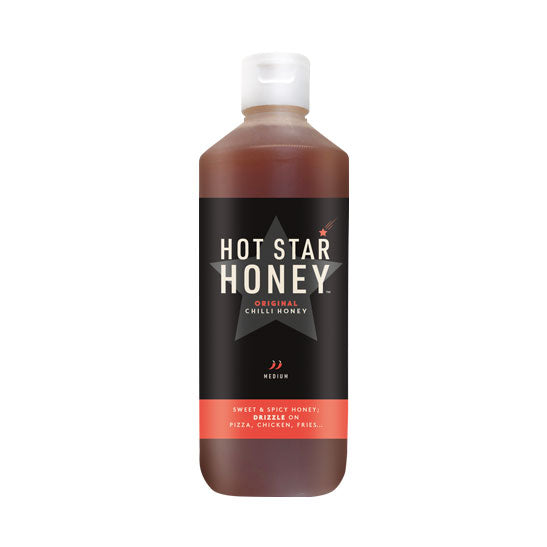 Hot Star Honey 650g Bottle