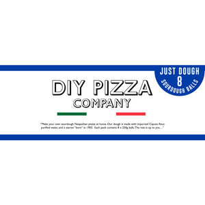 DIY PIZZA KIT - Just Dough 8 Pack