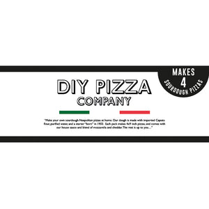 DIY PIZZA KIT - Margherita 4 Pack Caputo Sourdough