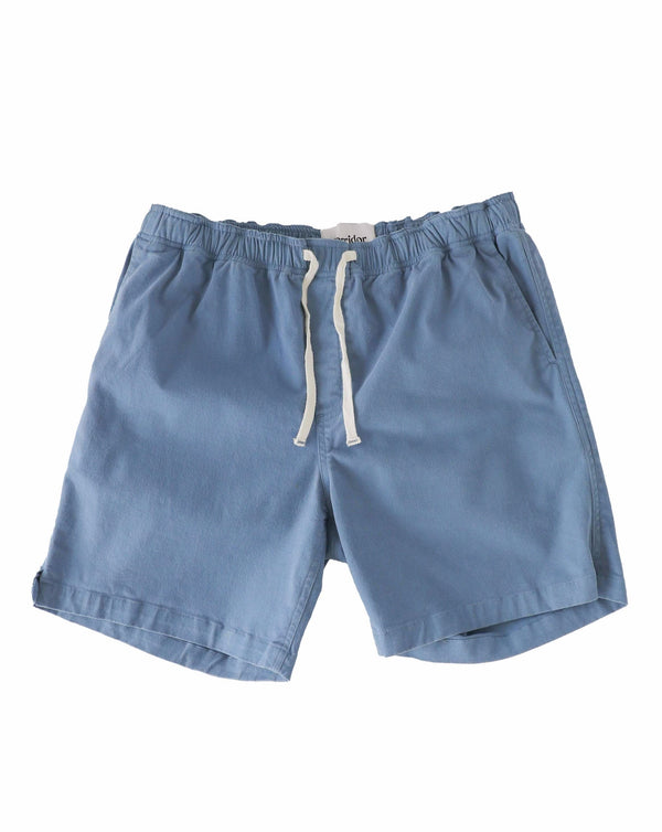 Drawstring Shorts - Indigo