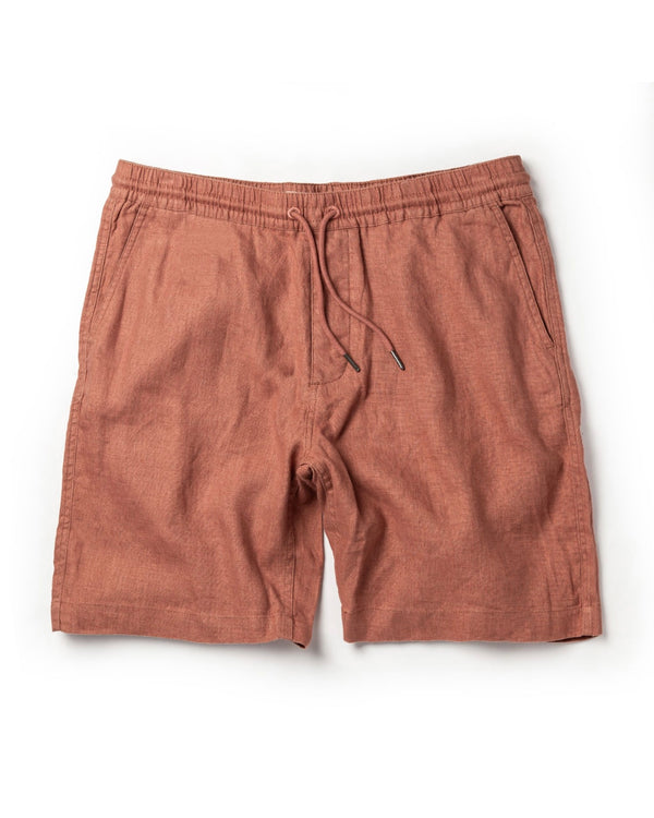 Apres Short in Rust Hemp