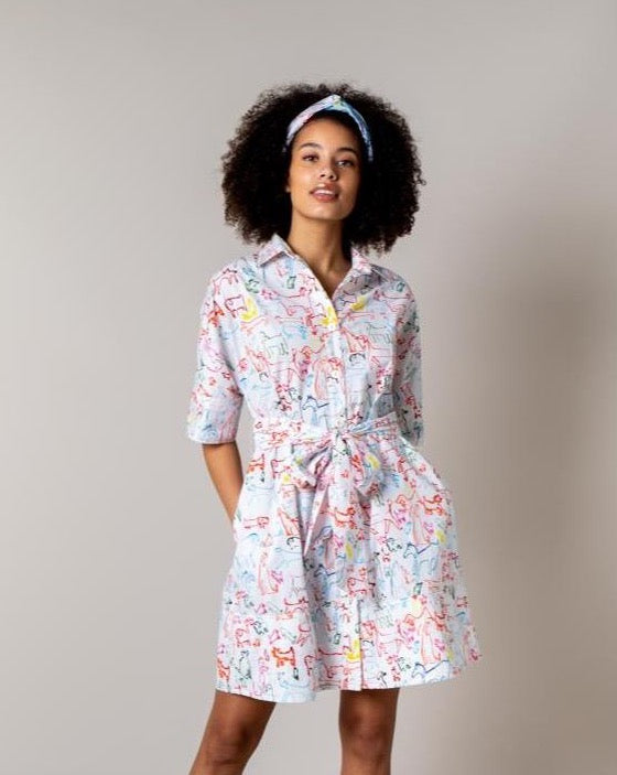 Miriam Shirt Dress