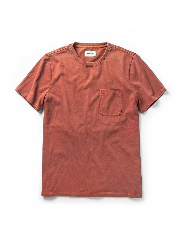 The Heavy Bag Tee in Dusty Clay