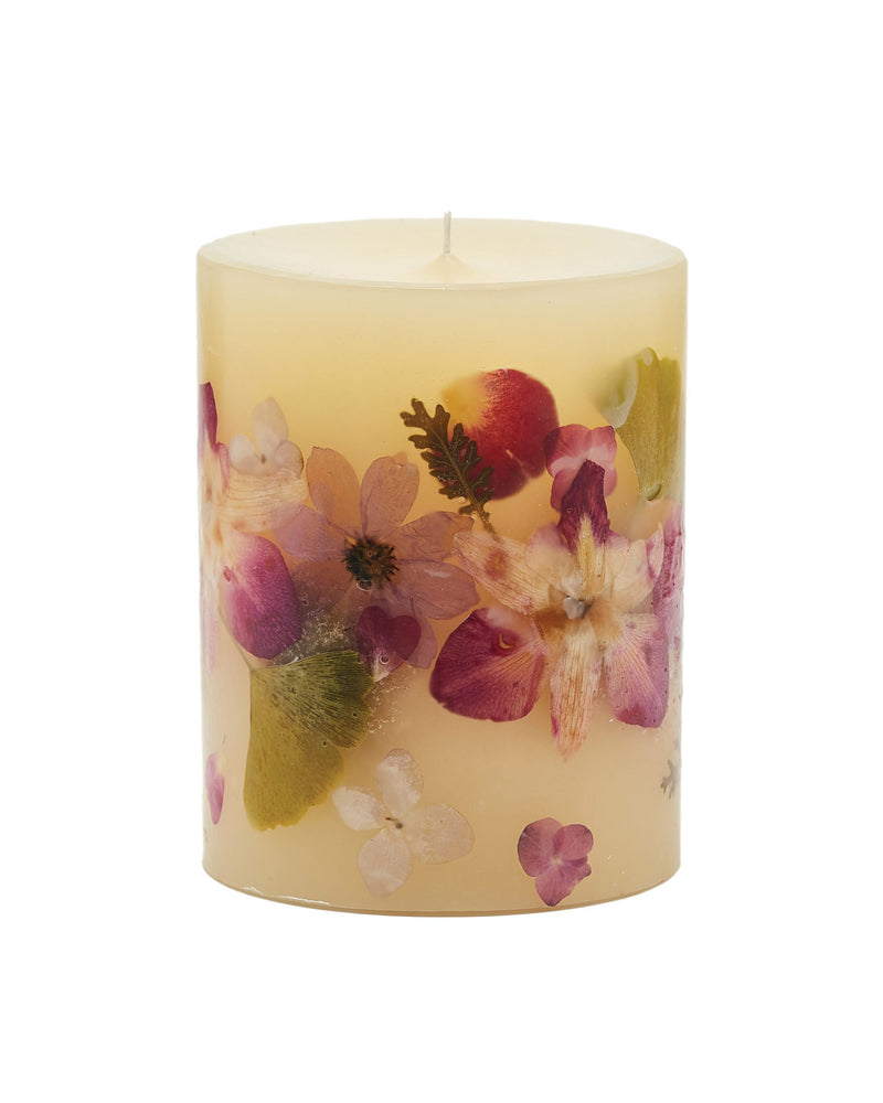 Medium Round Botanical Candle - Iris Moon