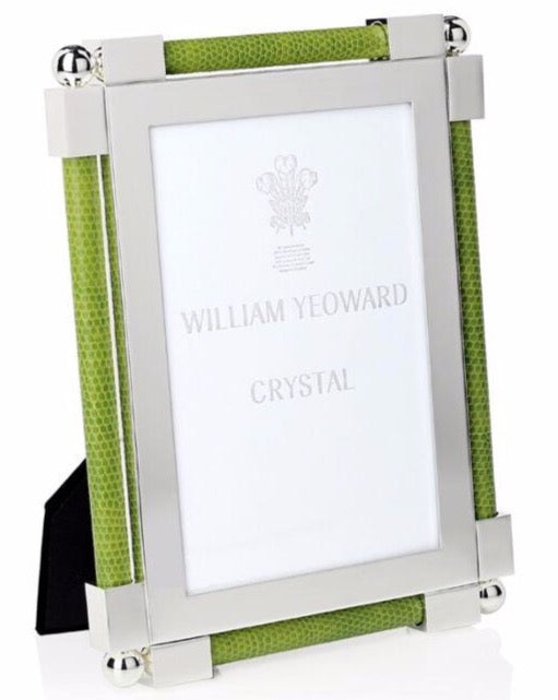 "Classic Shagreen Lime Green - 4"" x 6"""